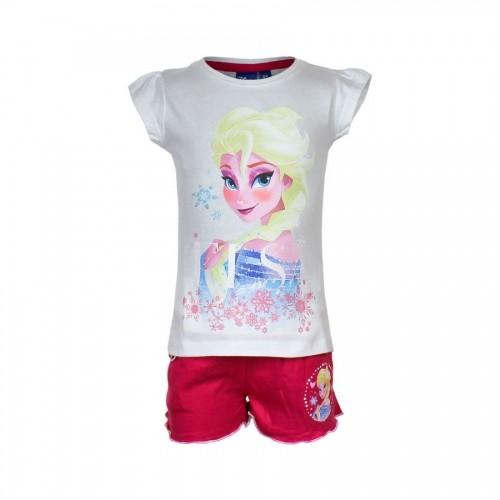 komplet majica in kratke hlace ledeno kraljestvo frozen_3