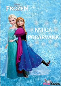 pobarvanka ledeno kraljestvo naslovnica
