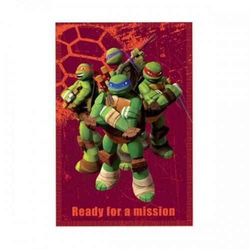 0262_Odeja iz flisa - Ninja želve Ninja Turtles2