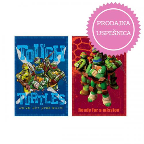 0262_Odeja iz flisa - Ninja želve Ninja Turtles_uspesnica