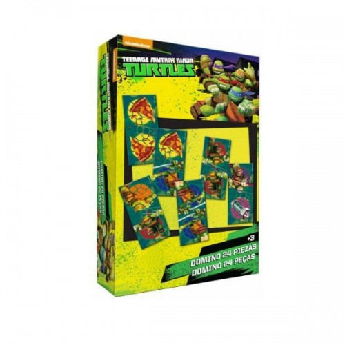 0268_Domine - Ninja zelve Ninja Turtles
