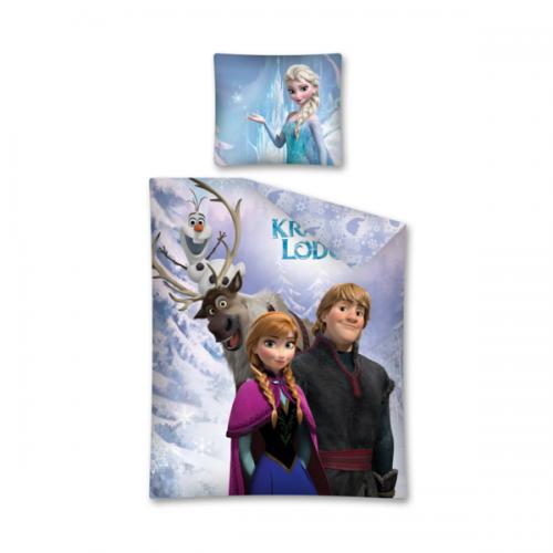 0291_Posteljnina Ana, Krištof, Sven in Olaf - Ledeno kraljestvo (Frozen)