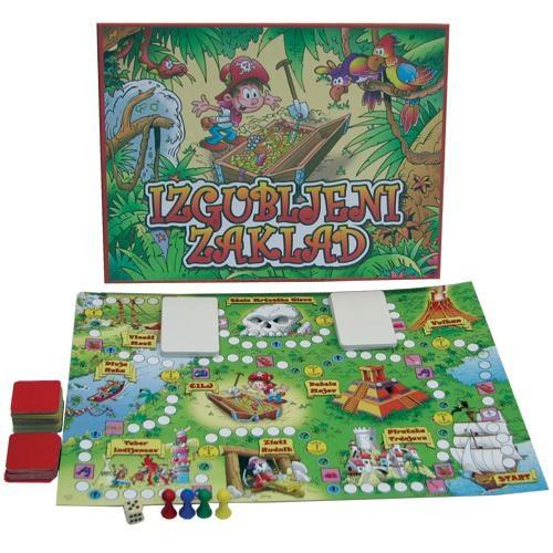 Izgubljeni zaklad (Družabna igra)