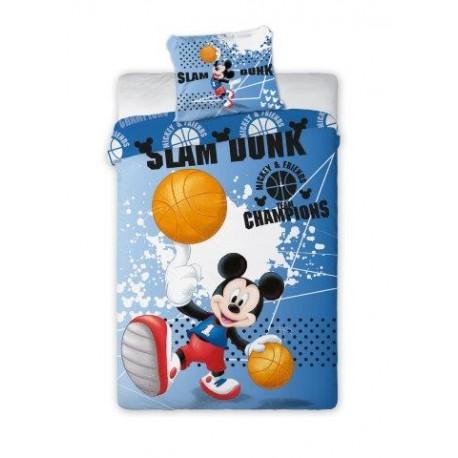 Posteljnina Miki Miška (Mickey Mouse) z žogo