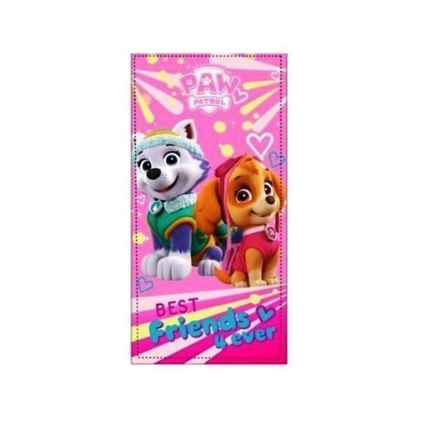 Brisača Paw Patrol roza 2p